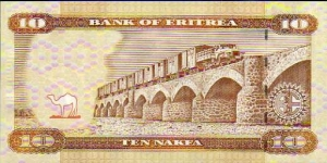 Banknote from Eritrea