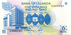 5 Shillings Banknote