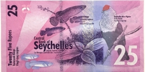 Banknote from Seychelles