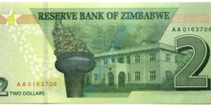 Banknote from Zimbabwe