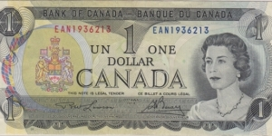 BC-46a-i $1.00 EAN  Banknote