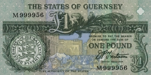 Banknote from Guernsey