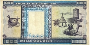 Banknote from Mauritania