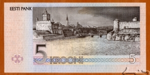 Banknote from Estonia