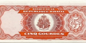 Banknote from Haiti