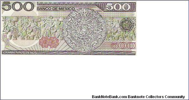 Banknote from Mexico year 1984