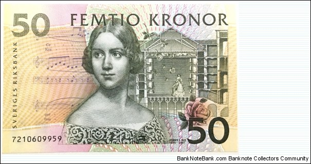 50 Kronor Banknote